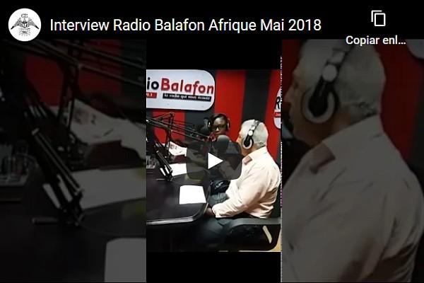 Interview Radio Balafon (Cameroun, Afrique-Mai-2018)